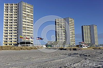 Fehmarn, Vacation Resort Editorial Photography