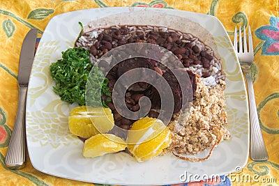 Feijoada, the Brazilian beans