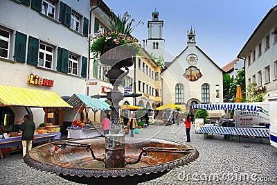 Feldkirch,Austria Editorial Image