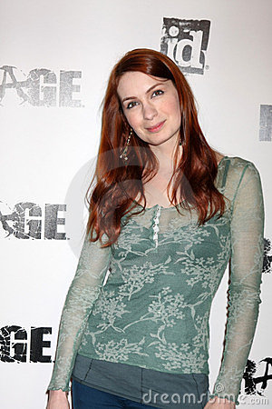 Felicia Day, Rage Editorial Stock Image