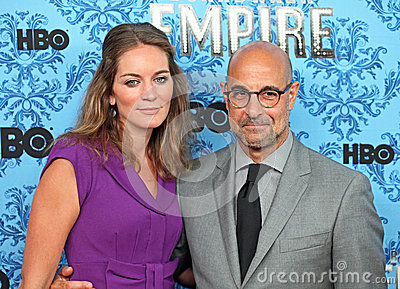 Felicity Blunt and Stanley Tucci Editorial Stock Image