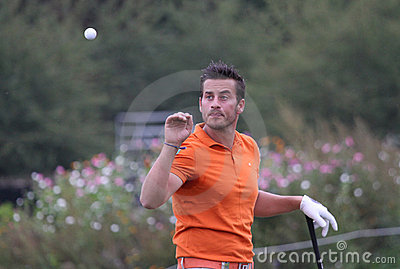 Felipe Lima, Vivendi golf cup, sept 2010 Editorial Photography