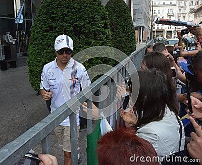 Felipe Massa Editorial Image