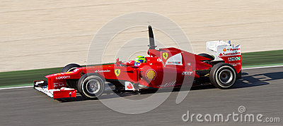 Felipe Massa of Ferrari Editorial Image