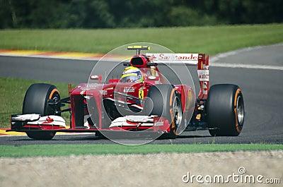 Felipe Massa Ferrari Editorial Photography