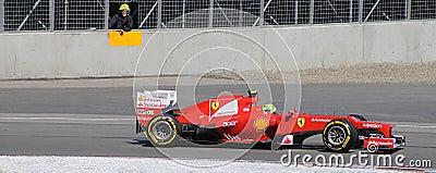 Felipe Massa Ferrari at Montreal GP Editorial Photo