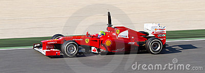 Felipe Massa racing Editorial Stock Photo