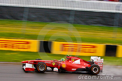 Felipe Massa racing at Montreal Grand prix Editorial Image