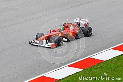 Felipe Massa (team Ferrari) Editorial Photography