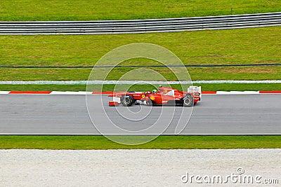Felipe Massa (team Scuderia Ferrari) Editorial Stock Image