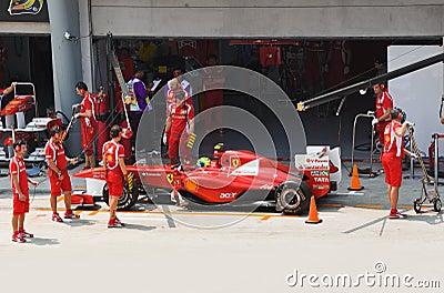 Felipe Massa (team Scuderia Ferrari) Editorial Image