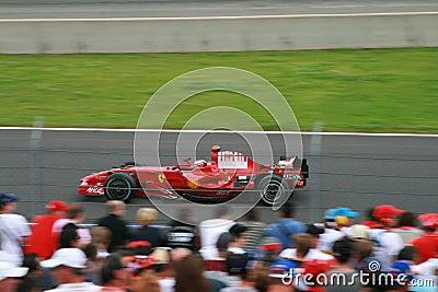 Felipe Massa Wins again Editorial Image