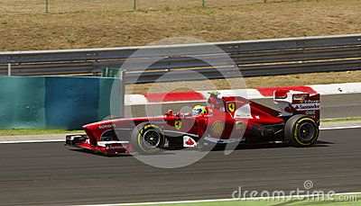 Felippe Massa, Ferrari Editorial Stock Image