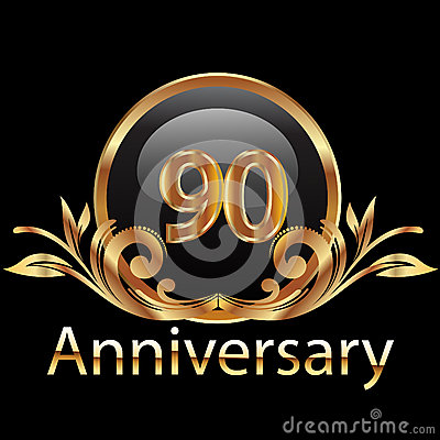 Feliz aniversario de 90 aniversários