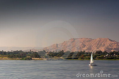Felucca on the Nile
