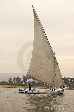 Felucca on Nile River