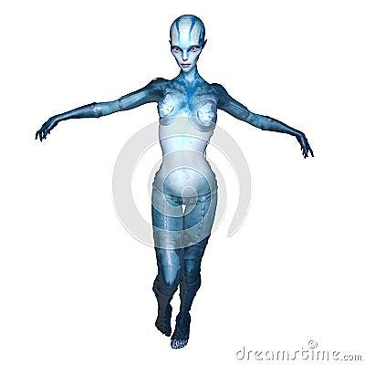 Free Female Alien Stock Photos - 96059543