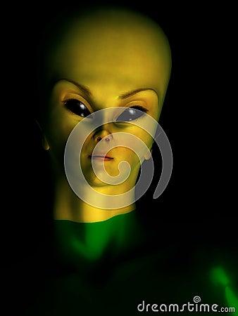 Female Alien Hybrid