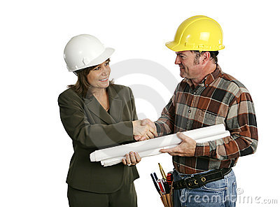 Female Architect Meets Contractor