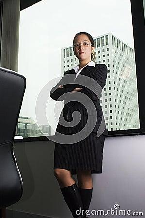 Female asian executive business