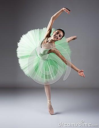 Female Ballet Dancer Stock Photo - Image: 34201390