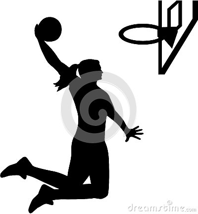 Free Female Basketball Player Stock Images - 85845744