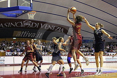 Female Basketball players in action Editorial Photography