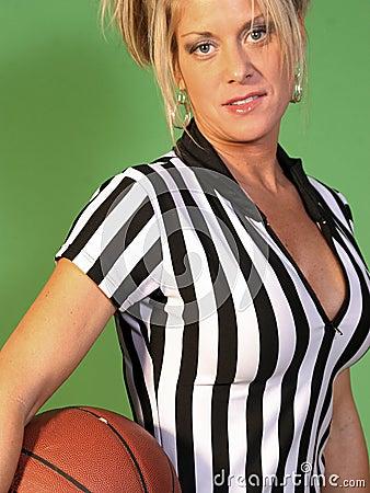 Female Basketball Referee