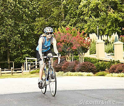 Female Bicycle Rider