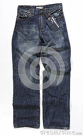 Female blue jeans shoes