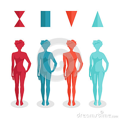 Free Female Body Shapes Royalty Free Stock Photos - 39005218