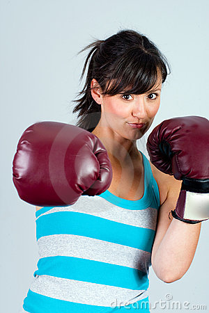 Female Boxer Stock Images - Image: 20351324