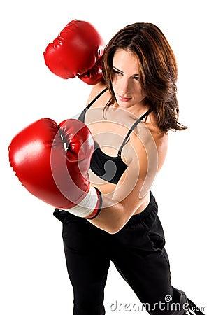 Free Female Boxer Royalty Free Stock Image - 289516