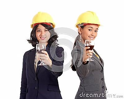 Female business partner