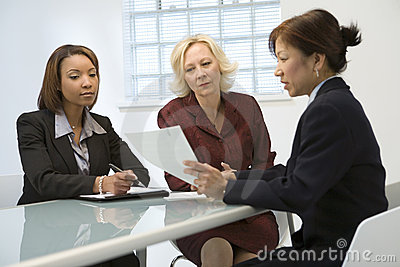 Female Business Team