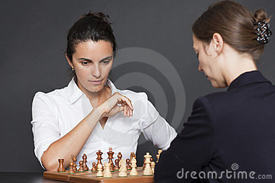 Female chess game