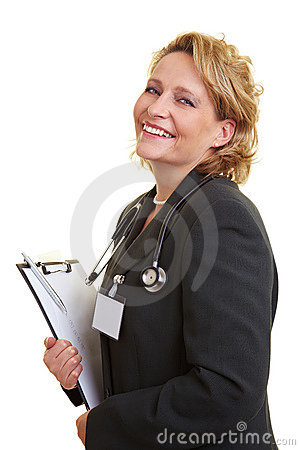 Female chief physician