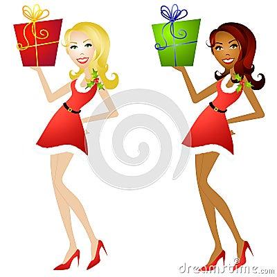 Female Christmas Helpers 2
