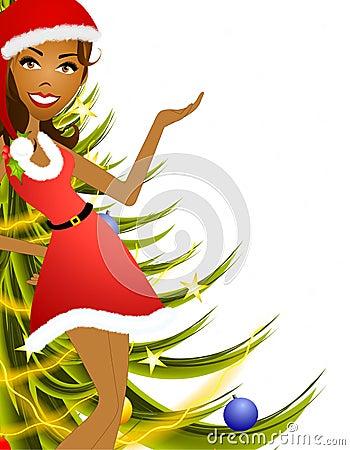 Female Christmas Presenter 2