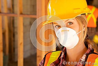 Female Constructin Worker