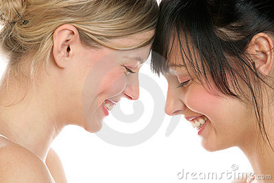 Female Couple Royalty Free Stock Images - Image: 12838689