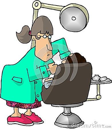 Female Dentist