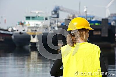 Female Docker