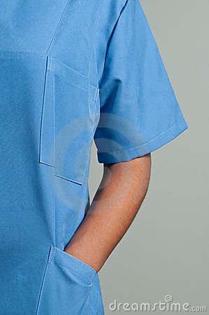 Blue Doctor Uniform