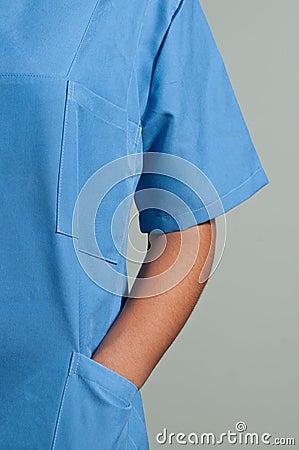 Blue Doctor Uniform