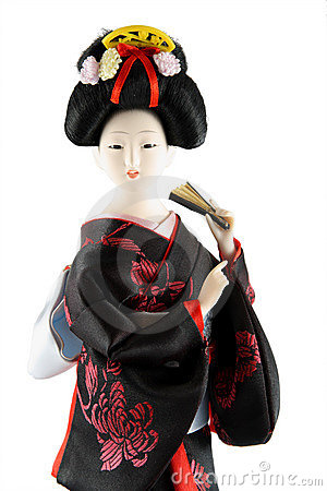 Female doll from Japan