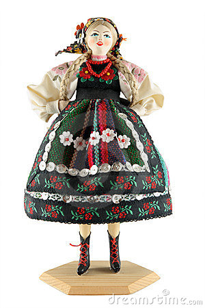 Female doll from Poland