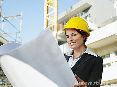 Female Engineer Royalty Free Stock Images - Image: 11862789