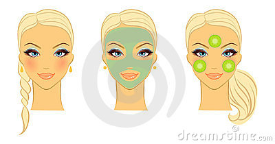 Female Face Front Royalty Free Stock Photo - Image: 23506715