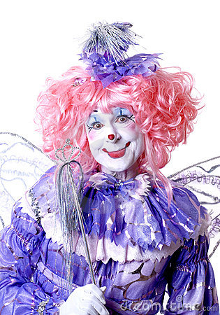 Free Female Fairy Clown Royalty Free Stock Images - 1578349
